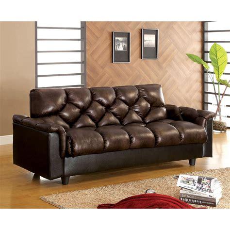 futon under 50 venetian worldwide bowie futon sofa w under seat storage