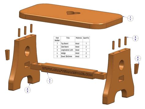 toin wood stool plans