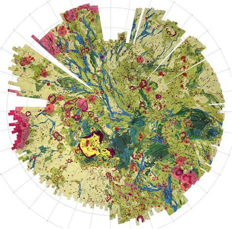 venus map mapcarte 242 365 geomorphic geologic map of part of the northern hemisphere of venus by usgs