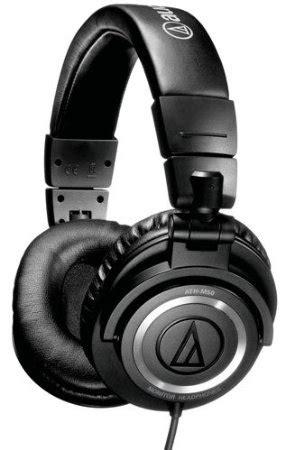 comfortable studio headphones audio technica ath m50x studio monitor great sound
