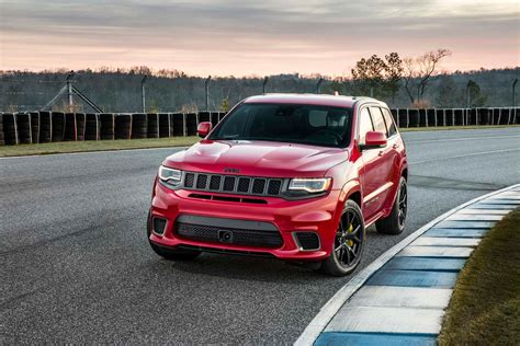 2018 jeep grand cherokee 2018 jeep grand cherokee trackhawk first look hell