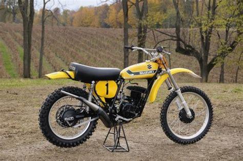 works motocross bikes 1973 suzuki rn73 roger decoster works bike dirt bikes