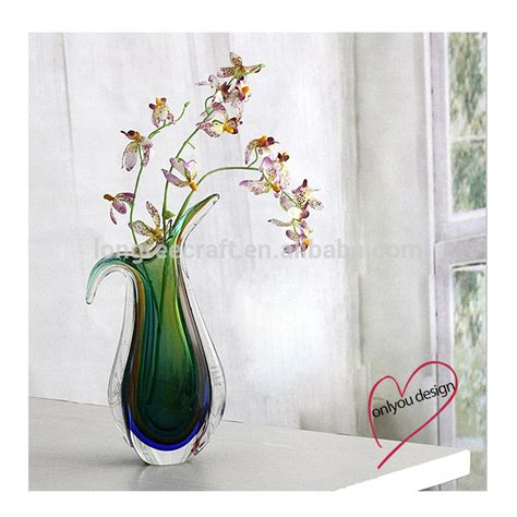 floreros de cristal por mayor baratos jarrones de cristal florero de cristal murano para
