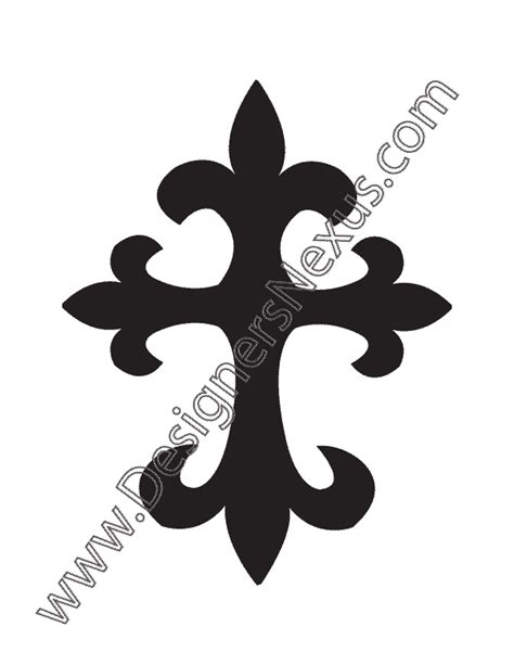 cross silhouette tattoo cross silhouette pictures to pin on
