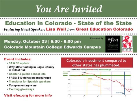 Colorado State Calendar Education In Colorado State Of The State Vvp Events