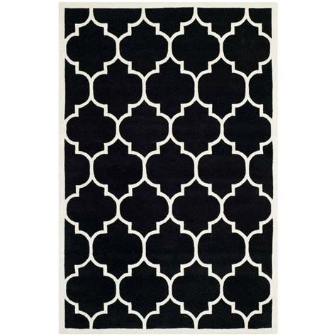 black and white rug our moroccan themed rug is popular on and we think it d be a hit with any lover