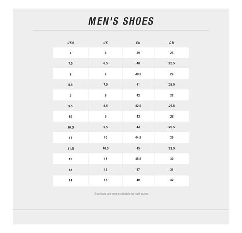 shoe size chart north face men s hedgehog mountain sneaker canvas shop at the north