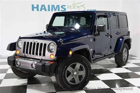2013 Jeep Wrangler Freedom Edition 2013 Used Jeep Wrangler Unlimited 4wd 4dr Freedom Edition
