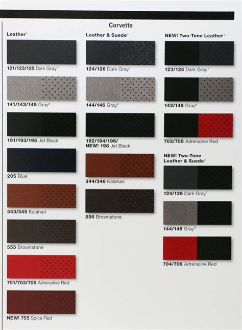 2013 chevrolet paint color chart autos post