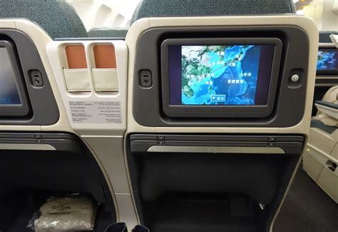 review cathay pacific new regional business class 777 300