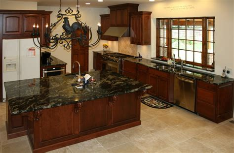 Cabinets Black Granite by Kitchen Stunning Cherr Wood Kitchen Cabinet Pictures