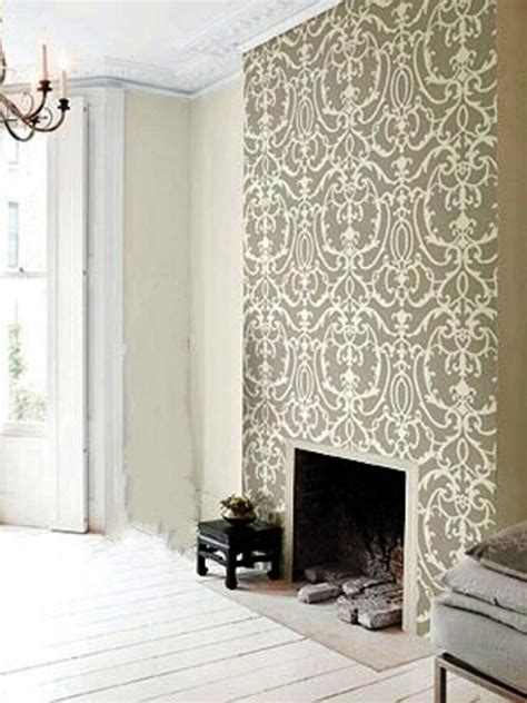 wallpaper for focal wall paint and wallpaper creates a focal wall daley decor