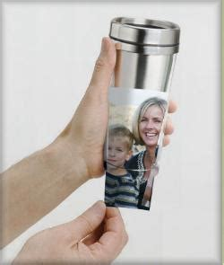 Insert Your Own Photo Or Art In The Clear Outer Of This Quality Travel Flask Travel Mug Photo Insert Template