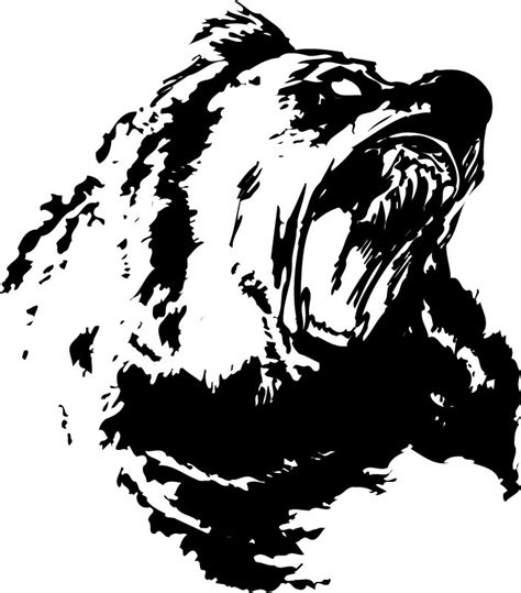 bear silhouette tattoo pictures pics images and photos for your