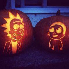 image result  rick  morty pumpkin stencil