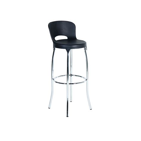 Bar Stool Black by Asteroid Bar Stool Black Unik Furniture Hire Durban