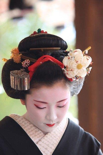 how to do geisha hairstyles maiko fumisono wearing yakko shimada hairstyle a special