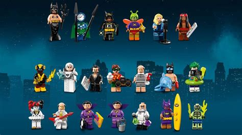 Lego 71020 Batman Cmf Series 2 Complete 20 Minifigures fw presents those wonderful toys gallery the and water network
