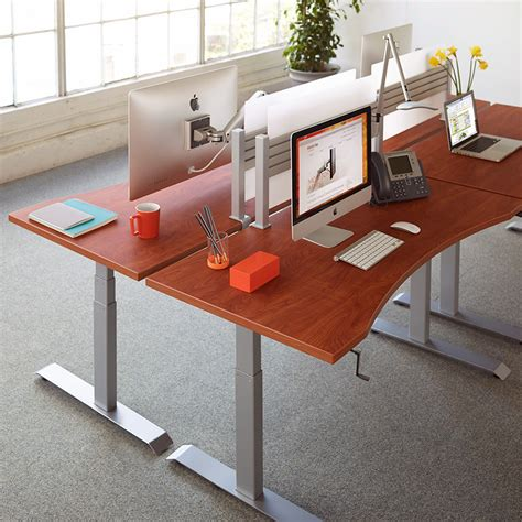 buy adjustable height desk for your home office