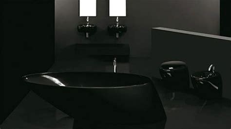all black bathroom black bathroom design inspiration freshome com