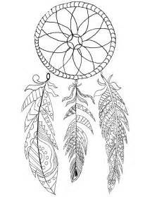 free printable dream catcher coloring graphics fairy