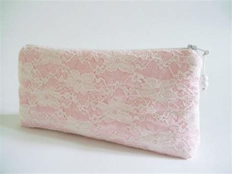 light pink clutch purse light pink lace clutch wedding clutch floral lace