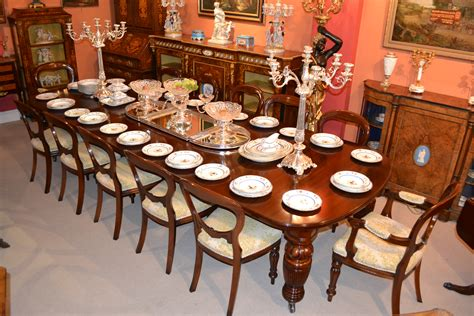 12 Chair Dining Table Antique Dining Table C 1880 12 Chairs