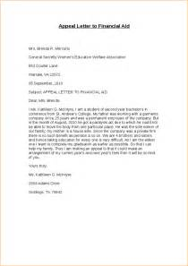 sap appeal letter template exle of financial aid appeal letter sap letter jpeg