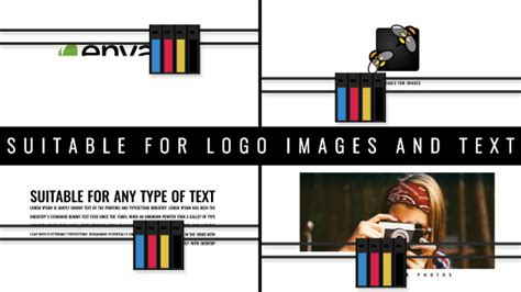 logo print technology after effects templates f5