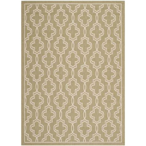 martha stewart outdoor rugs safavieh martha stewart green beige 4 ft x 5 ft 7 in indoor outdoor area rug msr4274 244 4