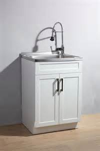 laundry cabinet with sink glacier bay utility laundry sink with cabinet the home