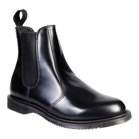 doc martens chelsea boots dr martens flora black chelsea boots dm footwear uk
