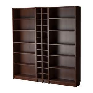 billy bookcase medium brown billy oxberg bookcase
