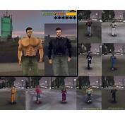 GTA 3 Claude Shirtless  Skins III Mod GTAinsidecom
