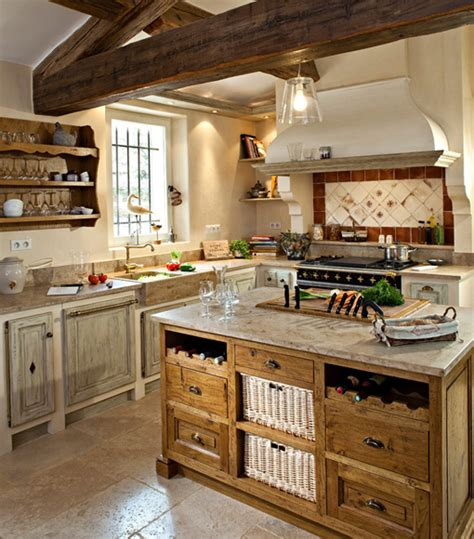 Provence Kitchen Design Proven 231 Al Style Kitchens Woods Jc Pez In Vaucluse Provence Cuisines Pez