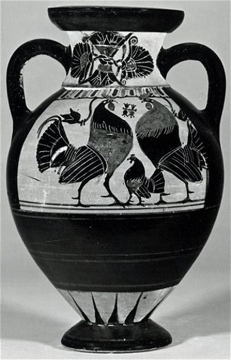 vasi greci a figure nere vaso greco a figure nere vi secolo ac
