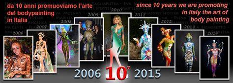 verona italy italian bodypainting festival italian painting festival