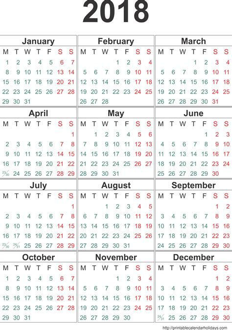 blank 2018 to 2020 calendar printable three yearly template