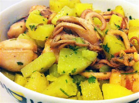 come cucinare moscardini moscardini con patate cucina mon amour