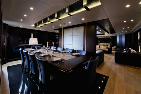sle room luxury yacht interior design