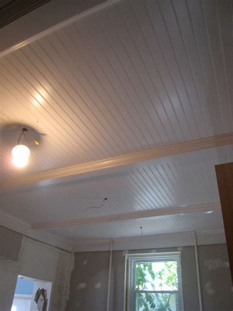 Outdoor Beadboard Ceiling Panels by Basement Ceiling Idea Remove Drop Ceiling Paint Beams