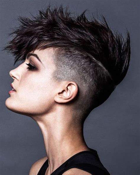 short spiky hairstyles short hairstyles 2018 short spiky haircuts hairstyles for women 2018 page 7