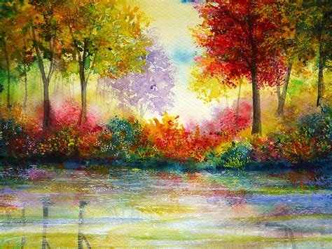 painting with colours poster colour idiosyncratic