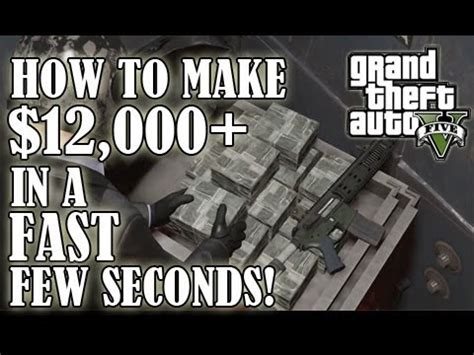 How To Make Fast Money On Gta 5 Online - gta 5 glitch all weapons upgrades for free funnycat tv