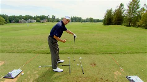 golf swing practice drills golf alignment tips drills video lessons golf channel