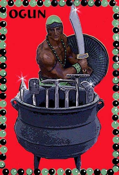 imagenes de ogun el dios del hierro todo sobre la osha e ifa ogg 218 n