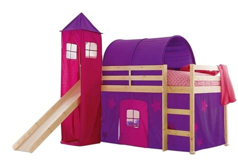 kidspace galaxy midsleeper with tent tower and tunnel at