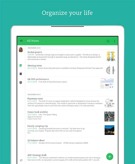 evernote templates for android evernote take notes plan organize android apps on