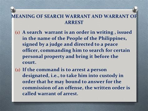 Meaning Of Search Warrant Article Iii Bill Of Rights