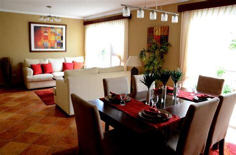 decoracion de sala  comedor juntos cocina imagenes